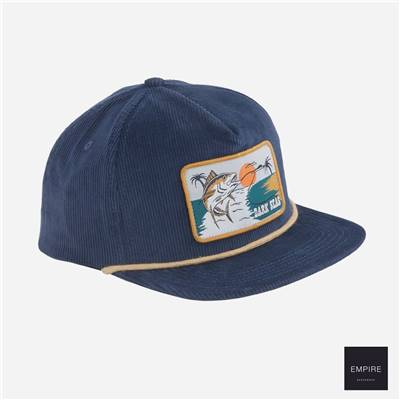 DARK SEAS SWIVEL HAT - Dark Navy