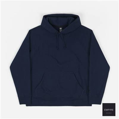 NIKE SB ORANGE LABEL HOODIE - Midnight Navy Dark Obsidian