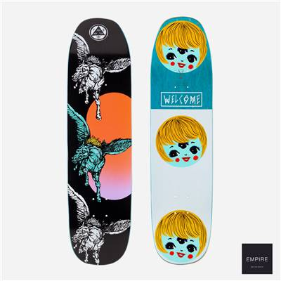 WELCOME SKATEBOARDS ''PEGGY ON SONE OF MOONTRIMMER'' 8.25 - Black